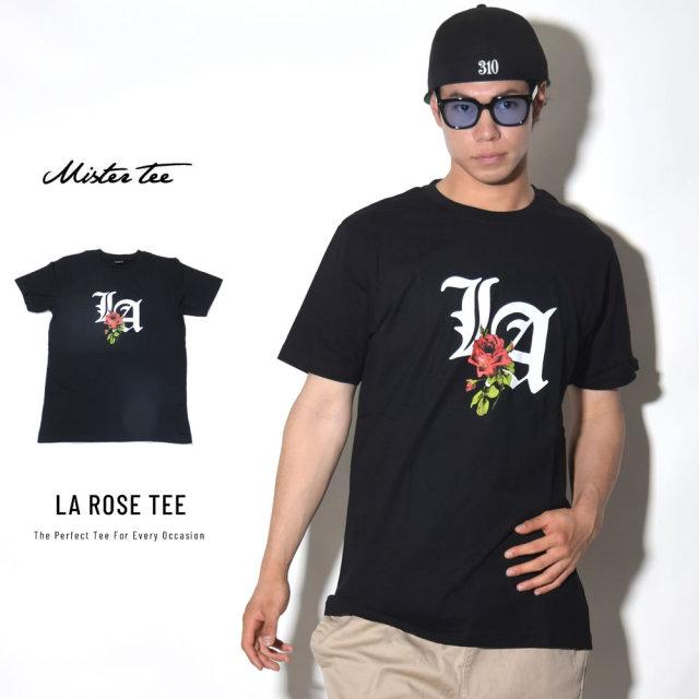 MISTER TEE ミスターティー 半袖Tシャツ LA ROSE TEE (MT540)