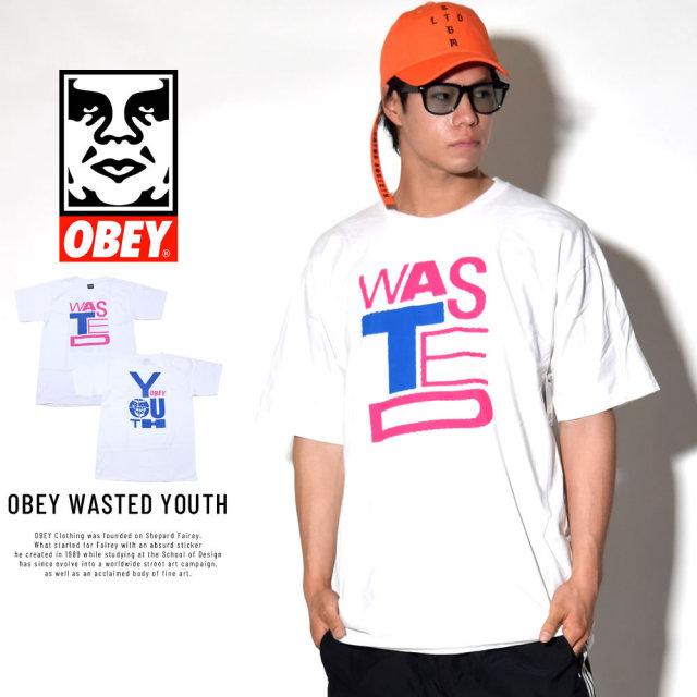 OBEY オベイ 半袖Tシャツ OBEY WASTED YOUTH (163081735)