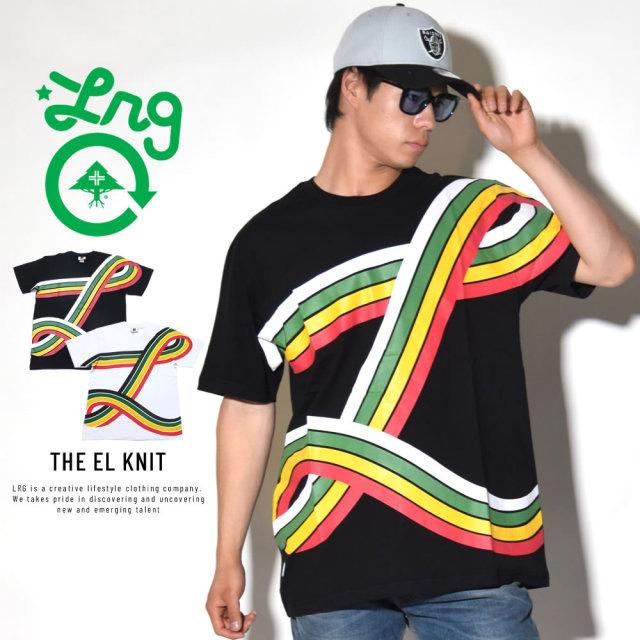 LRG エルアールジー 半袖Tシャツ THE EL KNIT (D181024)
