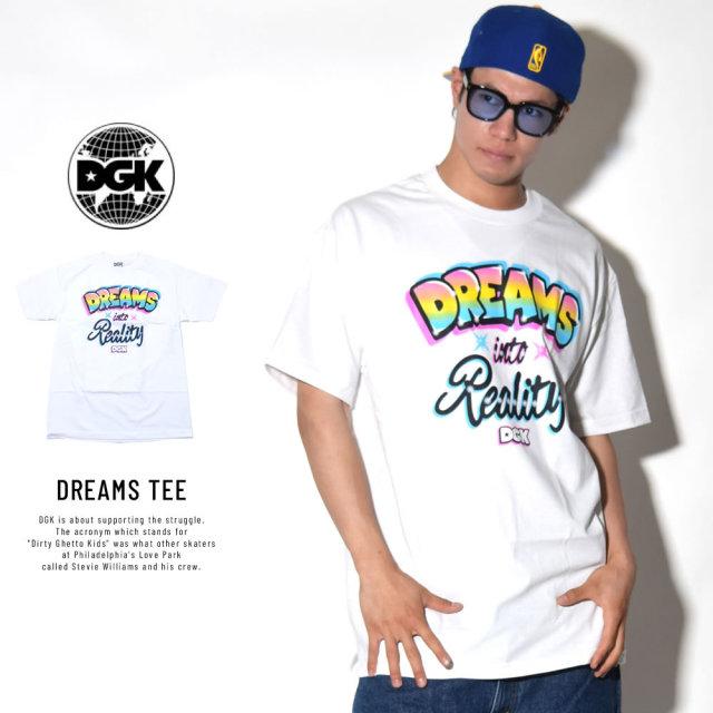 DGK ディージーケー 半袖Tシャツ DREAMS TEE (DT-4166)