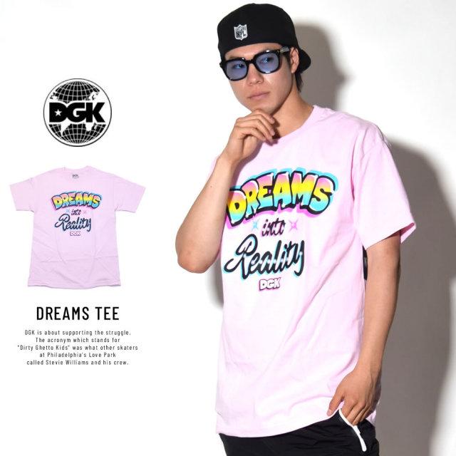 DGK ディージーケー 半袖Tシャツ DREAMS TEE (DT-4168)