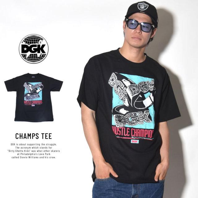 DGK ディージーケー 半袖Tシャツ CHAMPS TEE (DT-4181)