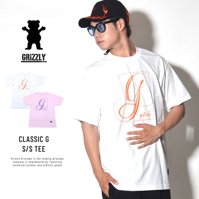 GRIZZLY グリズリー 半袖Tシャツ CLASSIC G S/S TEE (GMB1801P16)