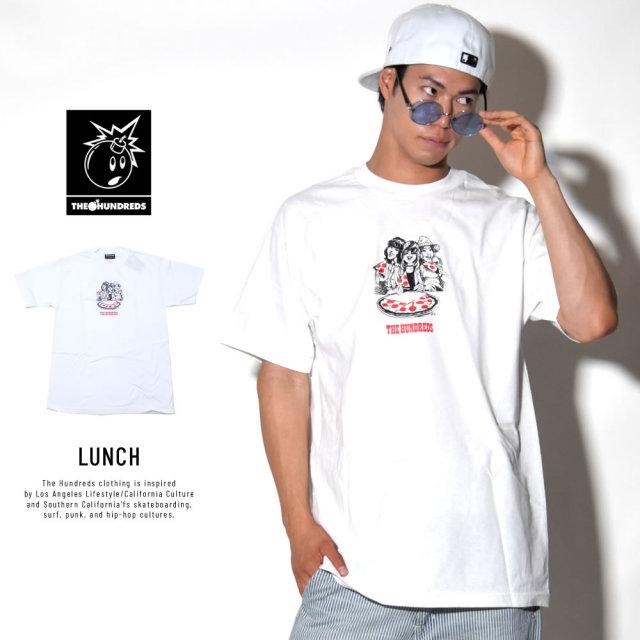 THE HUNDREDS ザ・ハンドレッツ 半袖Tシャツ LUNCH (T18S101034)