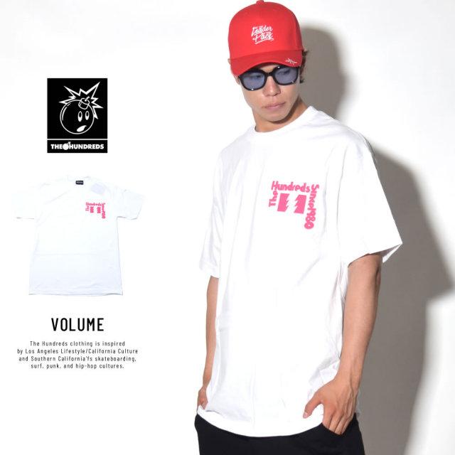 THE HUNDREDS ザ・ハンドレッツ 半袖Tシャツ VOLUME (T18S101040)