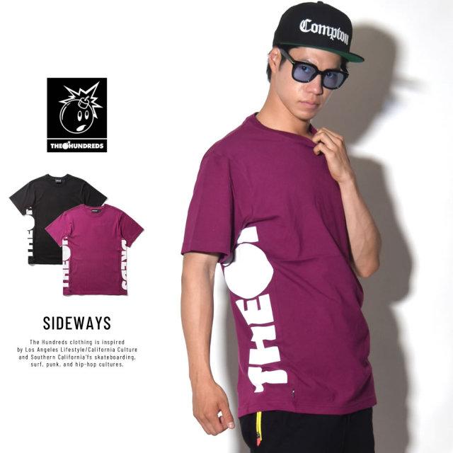 THE HUNDREDS ザ・ハンドレッツ 半袖Tシャツ SIDEWAYS (T18S209002)