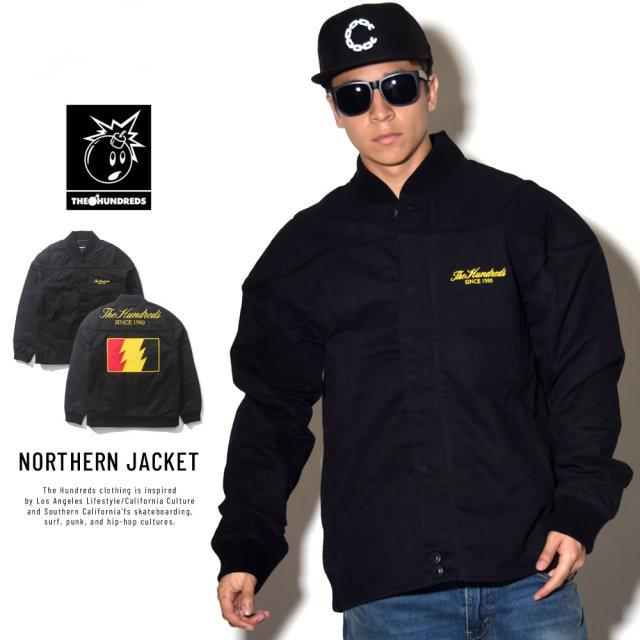 THE HUNDREDS ザ・ハンドレッツ 中綿ツイルジャケット NORTHERN JACKET (T18F103046)