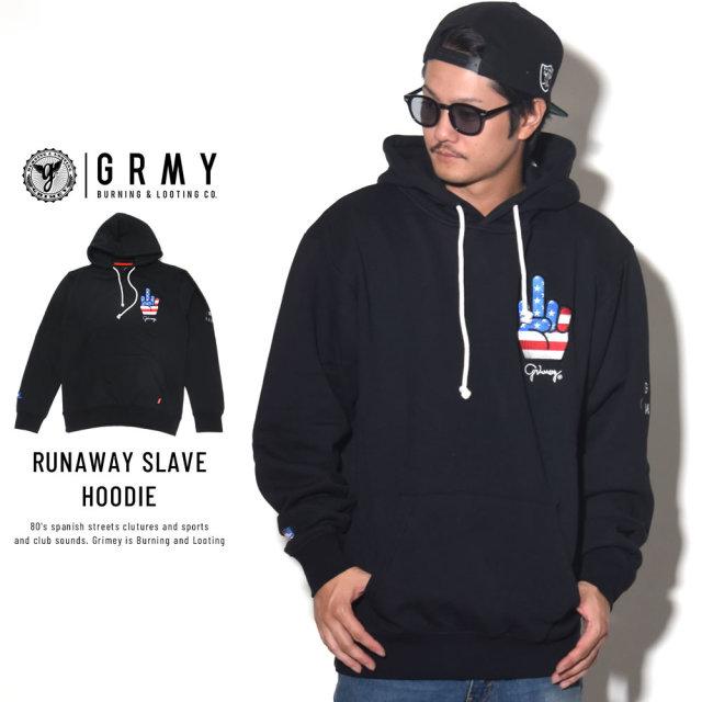 GRIMEY グライミー プルオーバーパーカー RUNAWAY SLAVE HOODIE GCH308