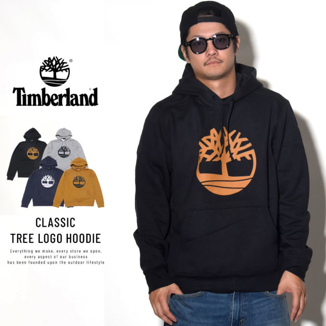 TIMBER LAND ティンバーランド プルオーバーパーカー CLASSIC TREE LOGO HOODIE TB0A1N9B