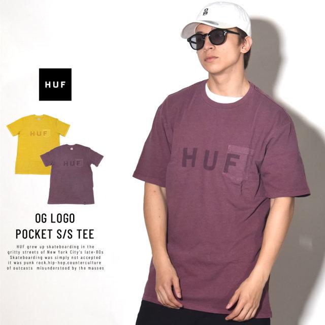 HUF ハフ 半袖Tシャツ OG LOGO POCKET S/S TEE TS00469