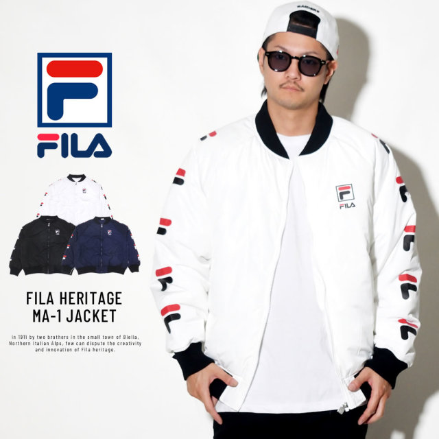 FILA フィラ ミリタリージャケット FM9508