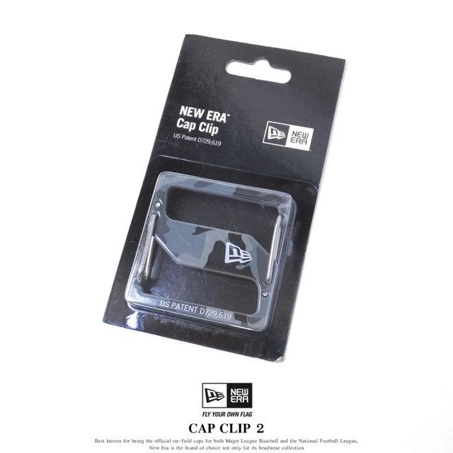 NEW ERA ニューエラ キャップクリップ CAP CLIP 2 ウッドランドカモブラック/シルバー (11556659)