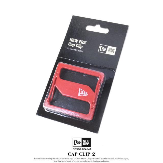 New Era (ニューエラ) キャップクリップ CAP CLIP 2 レッド/レッド (11556664)