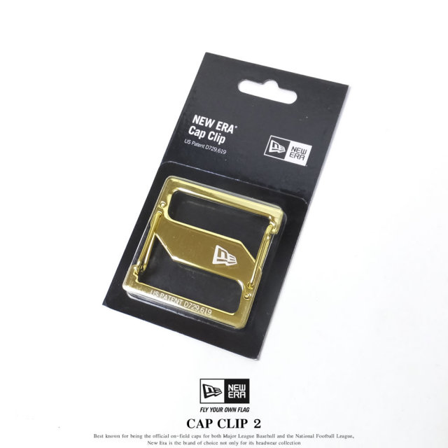 NEW ERA ニューエラ キャップクリップ CAP CLIP 2 ゴールド/ゴールド (11556666)