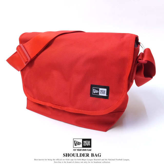 NEW ERA ニューエラ ショルダーバッグ SHOULDER BAG レッド (11556622)