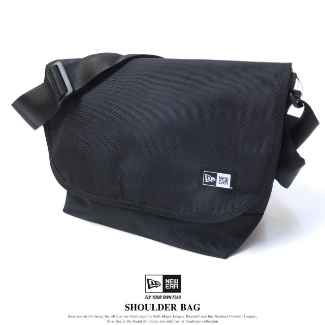 NEW ERA ニューエラ ショルダーバッグ SHOULDER BAG ブラック (11556623)
