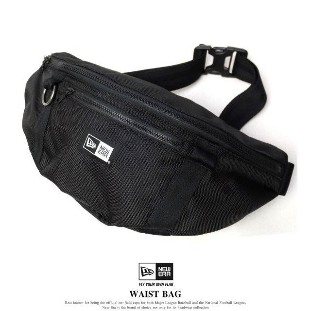 NEW ERA ニューエラ ウェストバッグ WAIST BAG ブラック (11560427)