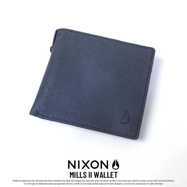NIXON ニクソン ウォレット メンズ MILLS II WALLET NAVY (C2727307)