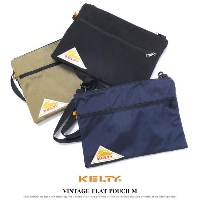 KELTY ケルティ サコッシュ VINTAGE FLAT POUCH M (2592145)