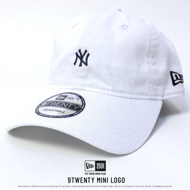 NEW ERA ニューエラ カーブバイザーキャップ 9TWENTY クロスストラップ ニューヨーク・ヤンキース ホワイト (11775159)