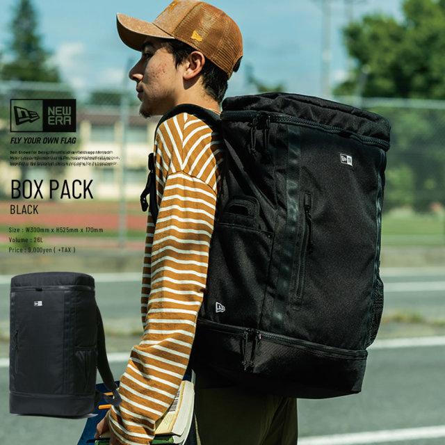 NEW ERA ニューエラ バックパック BOX PACK ブラック (11783343)