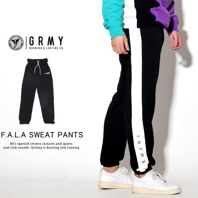 GRIMEY グライミー スウェットパンツ F.A.L.A SWEAT PANTS GRTS157