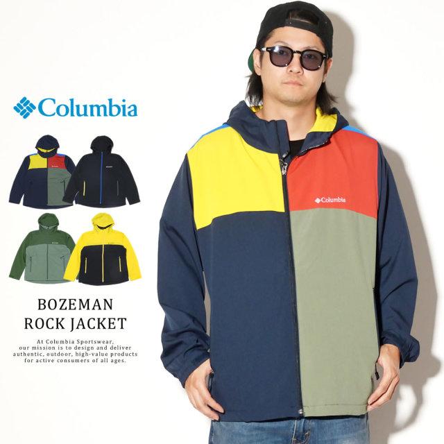 COLUMBIA コロンビア ウィンドブレーカー BOZEMAN ROCK JACKET PM3734