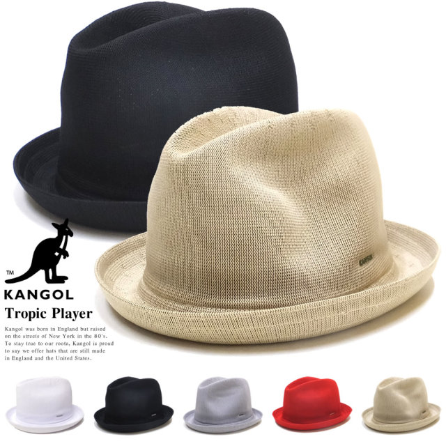 KANGOL カンゴール ハット トロピックプレイヤー TROPIC PLAYER 195169006