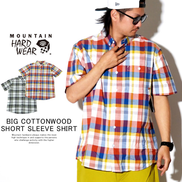 MOUNTAIN HARD WEAR マウンテンハードウェア 半袖シャツ BIG COTTONWOOD SHORT SLEEVE SHIRT OM7468