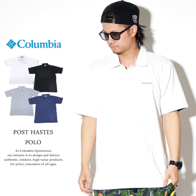 COLUMBIA コロンビア ポロシャツ POST HASTES POLO PM1521