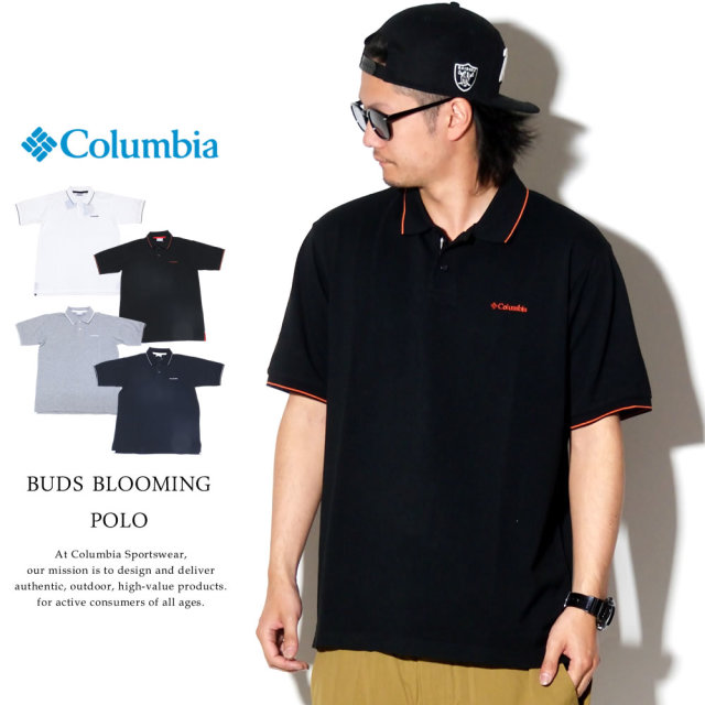 COLUMBIA コロンビア ポロシャツ BUDS BLOOMING POLO PM1522