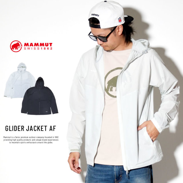 MAMMUT マムート ウィンドブレーカー GLIDER JACKET AF 1012-00210