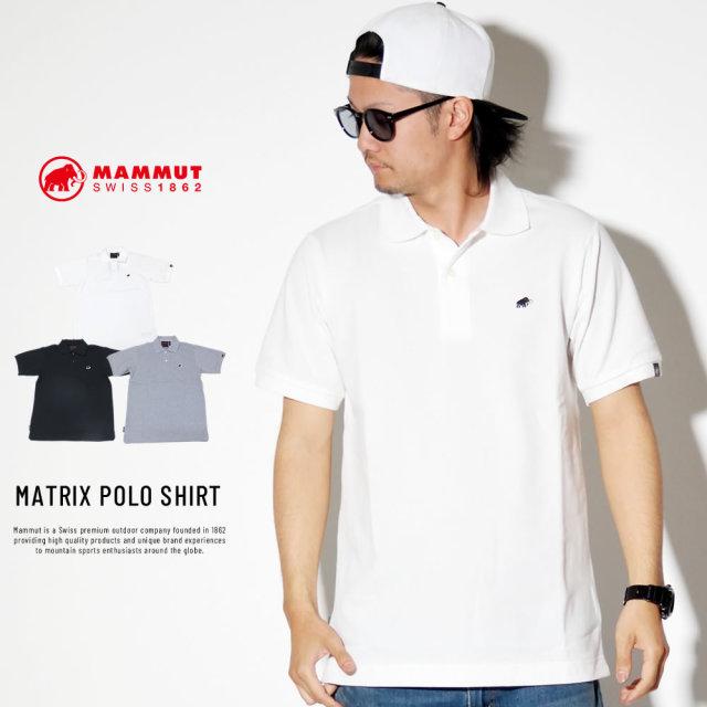 MAMMUT マムート ポロシャツ MATRIX POLO SHIRT 1017-00400