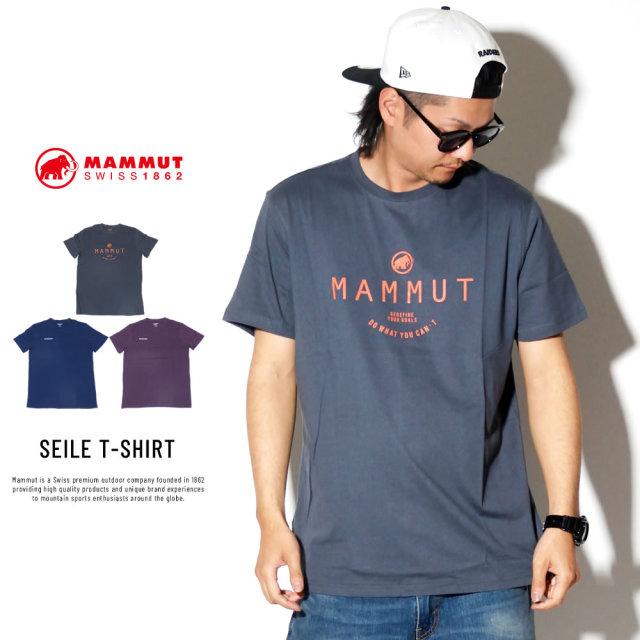 MAMMUT マムート 半袖Tシャツ SEILE T-SHIRT 1017-00970