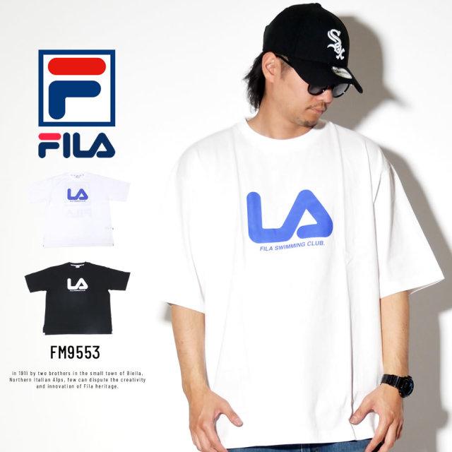 FILA フィラ 半袖Tシャツ FILA SWIMMING CLUB バックプリント FM9553