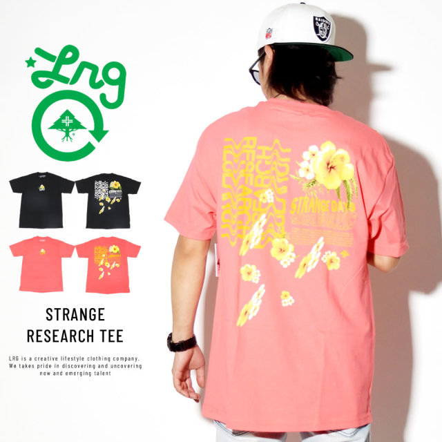 LRG エルアールジー 半袖Tシャツ STRANGE RESEARCH TEE D191043