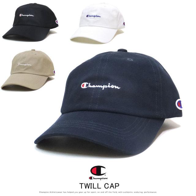 CHAMPION チャンピオン カーブバイザーキャップ TWILL CAP 181-019A