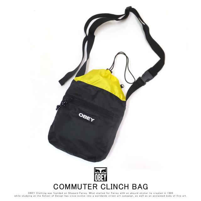 OBEY オベイ ショルダーバッグ COMMUTER CLINCH BAG 100010129