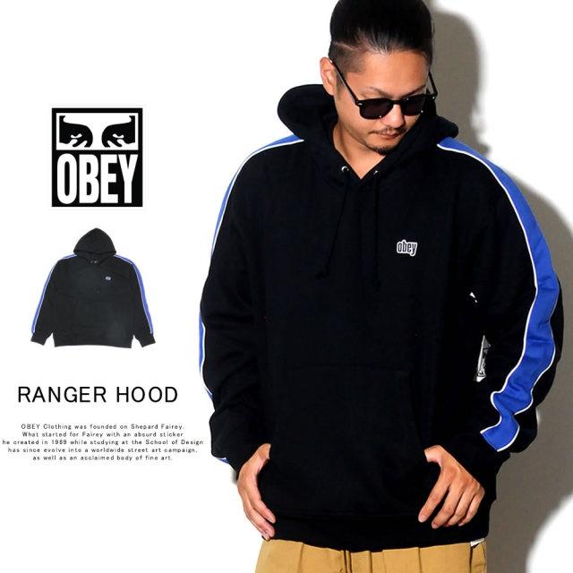 OBEY オベイ プルオーバーパーカー RANGER HOOD 112470065