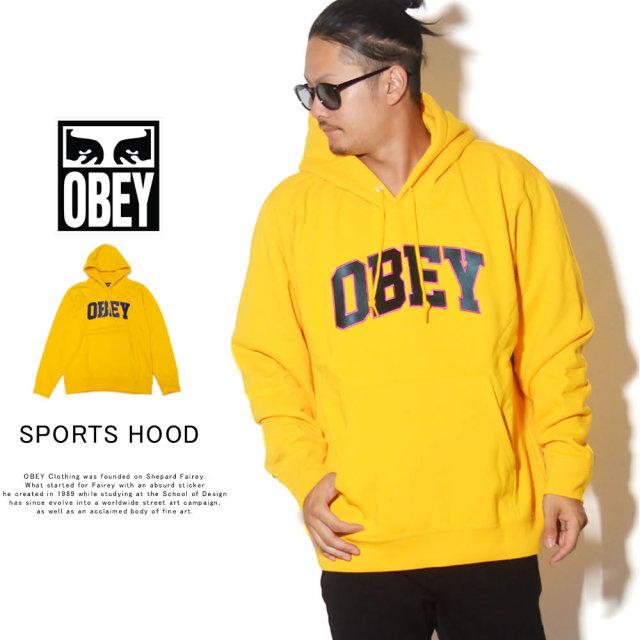 OBEY オベイ プルオーバーパーカー OBEY SPORTS HOOD 112470067