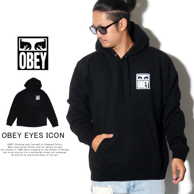 OBEY オベイ プルオーバーパーカー OBEY EYES ICON 112841874