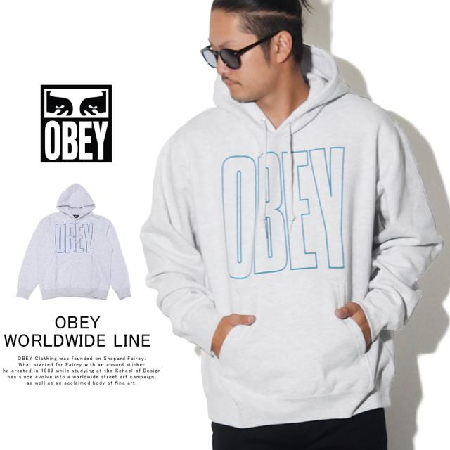 OBEY オベイ プルオーバーパーカー OBEY WORLDWIDE LINE 112842000