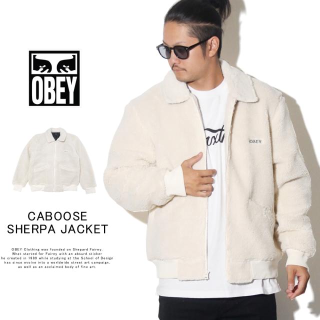 OBEY オベイ シェルパジャケット CABOOSE SHERPA JACKET 121800396