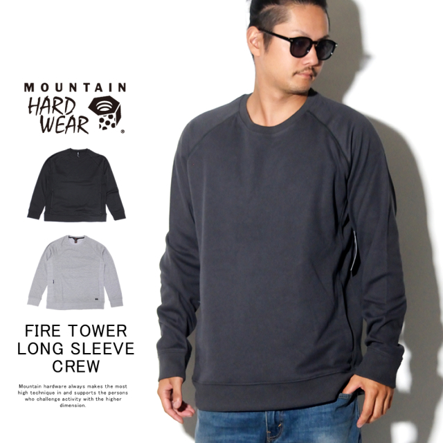MOUNTAIN HARD WEAR マウンテンハードウェア トレーナー FIRE TOWER LONG SLEEVE CREW OM7962
