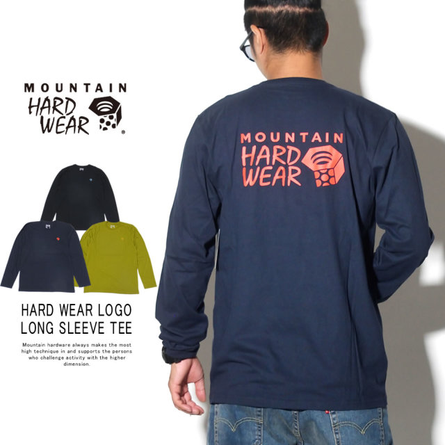 MOUNTAIN HARD WEAR マウンテンハードウェア 長袖Tシャツ HARD WEAR LOGO LONG SLEEVE TEE OM8358