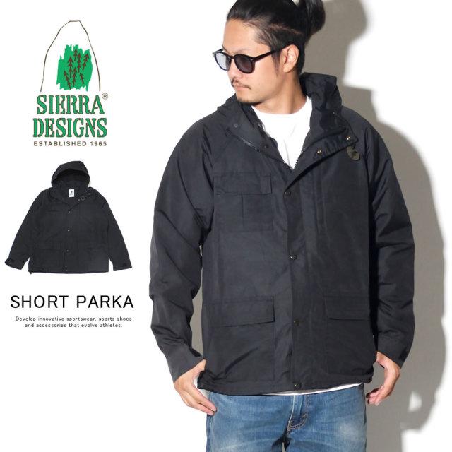 SIERRA DESIGNS シエラデザイン ウィンドブレーカー マウンテンパーカー SHORT PARKA 8001