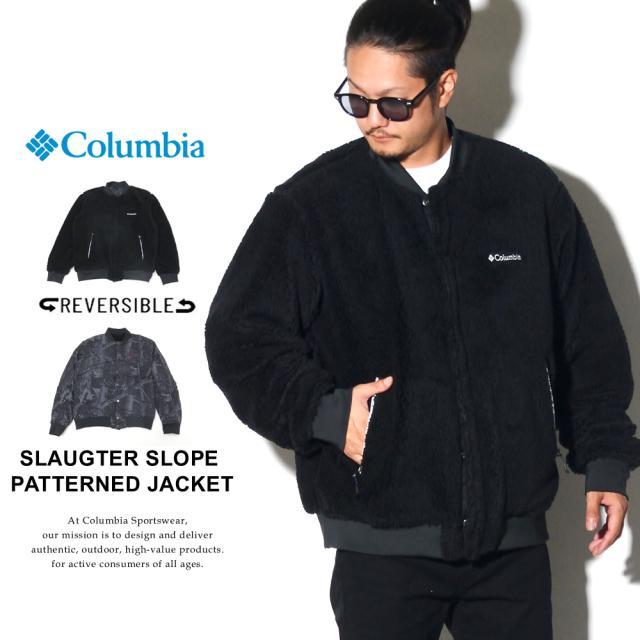 COLUMBIA コロンビア リバーシブルジャケット スロータースロープパターンドジャケット SLAUGTER SLOPE PATTERNED JACKET PM1563