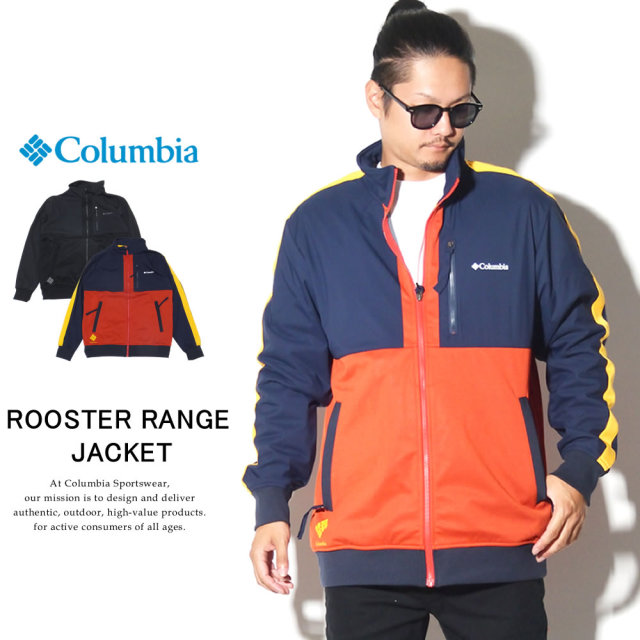 COLUMBIA コロンビア トラックジャケット ルースターレンジジャケット ROOSTER RANGE JACKET PM1583