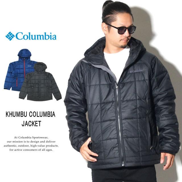 COLUMBIA コロンビア 中綿ジャケット キルティングジャケット キュンブーグレイシャージャケット KHUMBU GLACIER JACKET PM3747
