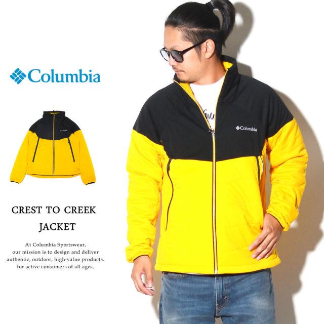 COLUMBIA コロンビア ウィンドブレーカー マウンテンパーカー クレストトゥークリークジャケット CREST TO CREEK JACKET PM3791